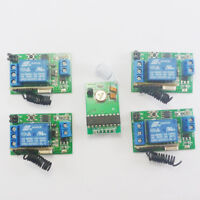 DC5V 433MHz Transmitter Control Delay Relay Receiver Kits Arduino Wilress Bulb