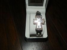 Rhinestone Watch Silver
