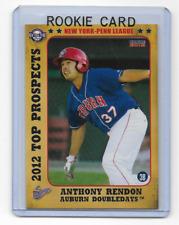 Anthony Rendon 2012 Top Prospects Auburn Doubledays Choice New York Penn League