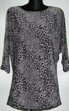 Women's Animal Print Regular Career Polyester Tops & Blouses