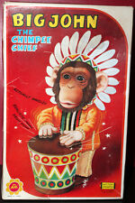 BIG JOHN THE CHIMPEE CHIEF DRUMMER RARE BATTERY JAPAN W/BOX ALPS WORKS GREAT