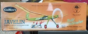 Guillow's Javelin Classic Balsa Wood Flying Toy Model Airplane Kit,  GUI-603