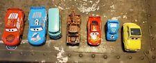 Disney Cars Movie Cars Lot ×7