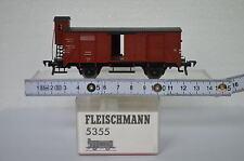 Fleischmann HO 5355 Gedeckter Güterwagen G10 145864 DB (CD/034-10R1/5)