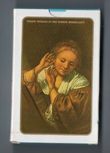 #N.032 Vintage Swap / Playing Card SEALED DECK, Rembrandt, Young Woman