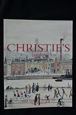 L.S. LOWRY COLLECTION OF FREDERICK FORSYTH CHRISTES 2001