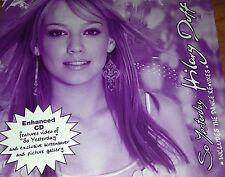 Hilary Duff So Yesterday Aust. Dance Remixes CD Single Rare 2003 Metamorphosis