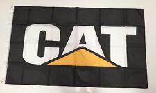 CAT Caterpillar Style 2 Banner Flag - Diesel Power Tools Excavator Track Loader