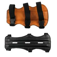 Adults Archery Bow Leather Arm Guard Armguard Bracer Hunting Shooting New