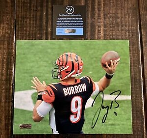 Joe Burrow Cincinnati Bengals Autographed Signed 8x10 Photo COA