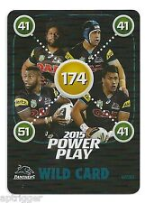 2015 NRL Power Play WILD CARD (WC10) Panthers