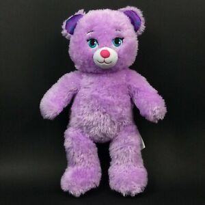 Build-A-Bear - Disney Frozen - Anna - Purple Plush Teddy Bear
