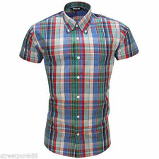 Relco Check Fitted Casual Shirts & Tops for Men