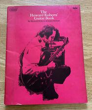 The Howard Roberts' Guitar Book PlayBack Sheet Music Songbook 1971