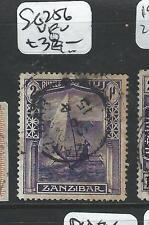 ZANZIBAR (P1907B) 2R SG 256  VFU
