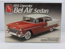 AMT ERTL 1955 CHEVY BEL AIR SEDAN 1/25 Scale Plastic Model Kit UNBUILT
