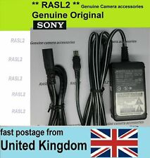 Genuine SONY AC POWER Adapter AC-L100 DSC-R1 HDR-FX1 GV-D800 HD700 CCD TRV