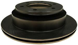 Disc Brake Rotor-Non-Coated Rear ACDelco 18A570A