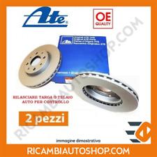 2 DISCHI FRENO POSTERIORE ATE FIAT GRANDE PUNTO 1.4 T-JET KW:88 2007> 410323