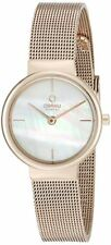 Obaku Women's Analog Quartz Rose Gold Tone S. Steel Watch V153LXVWMV
