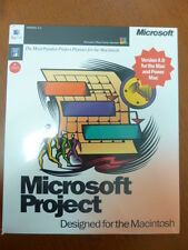 MICROSOFT PROJECT DEISGNED FOR THE MACINTOSH VERSION 4.0