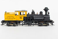 WORKING GEARS HO ROUNDHOUSE RTR 2 TRUCK SHAY MDC READY TO RUN D&RGW BUMBLEBEE