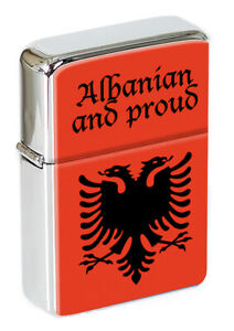 Albania Albanian Eagle Flip Top Lighter