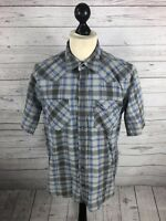 LEVI LEVI'S Shirt - Large - Check - Short Sleeved - Great Condition - Men's