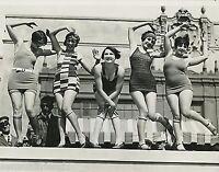 Ladies Dancing Charleston Photo Swimsuits 1920s Flappers Jazz Prohibition era