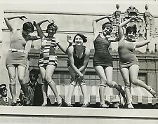 Ladies Dancing Charleston Photo Swimsuits 1920s Flappers Jazz Prohibition era