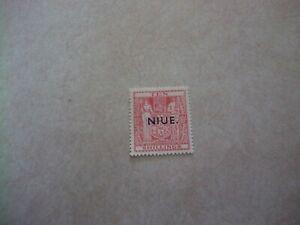 NIUE Cook Islands Stamp SG 81 Scott 88 SINGLE WATERMARKED OG VERY LIGHT HINGED