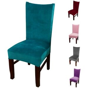 1/4pcs Chair Cover Dining Chair Slipcover Stretch Home Chair Seat protector NEW