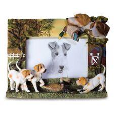 Jagdhunde Bilderrahmen mit Beute 25cm