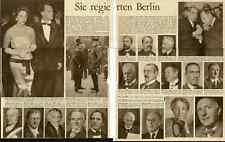 Sie regierten Berlin (1957 ) und Berliner Wahlen ( 1958 ?)   2  Zeitungsteile