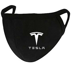 Tesla - Face Mask Cover Fashion 2 Layers + Pocket Custom Made in US