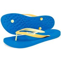 Speedo Saturate II Men's Thong Blue Orange Flip Flops Beach Holiday Sandals New
