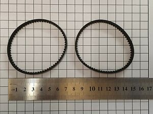 2 x Vax Toothed Belt Kit 1-1-134530-00 (Type 24) 3M-207-6.5 Generic Part