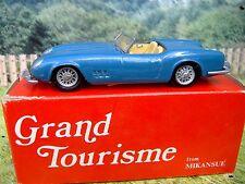 1/43 Mikansue Grand Tourisme(England) Ferrari 1961 Handmade White Metal  Kit