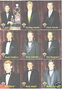 1996 Racer's Choice TOP TEN Mark Martin #4 BV$5!!! ONE CARD ONLY!
