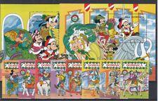 D. Walt Disney Dominica 1354-61+ Block 174/75 Mickey Mouse (MNH)