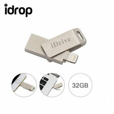 iDrive U Flash Disk USB Memory Stick Drive for iPhone i Pad Air [32G]
