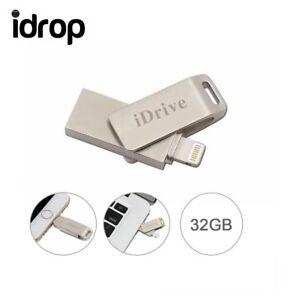 idrop iDrive U Flash Disk USB Memory Stick Drive for iPhone  i Pad Air [32G]