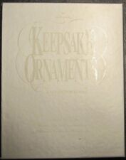 Hallmark Keepsake Ornaments - A Collector's Guide Limited Edition Set 1973-1998