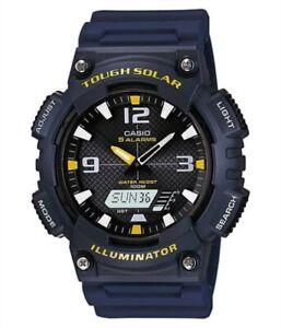 Casio - AQ-S810W-2AVEF - Herrenuhr Resin gewölbtes Uhrenglas blau schwarz NEU