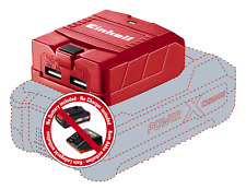 Einhell Te-cp 18 Li Solo Power X-change Lithium Ion USB Charger - Red