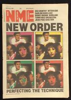 NME 28 January 1989 New Order Big Country Nitzer Ebb Darling Buds Birdland