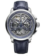 MAURICE LACROIX MP6028-SS001-002-1 MASTERPIECE CHRONOGRAPH SKELETON EXCELLENCE