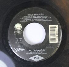 Pop 45 Kylie Minogue - The Loco-Motion / I'Ll Still Be Loving You On Geffen Reco