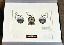 DOCTOR WHO FOB WATCH LIMITED EDITION CONCEPT ARTWORK DR WHO BBC DEPARTMENT SIX