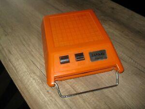 mange disque vintage 1970 design orange LANSAY PONCHO qui fonctionne